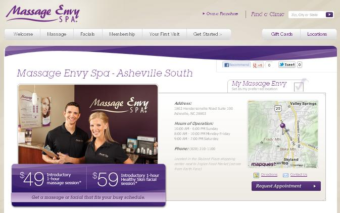 Massage Envy Spa Grand Opening in South Asheville - AskAsheville ...