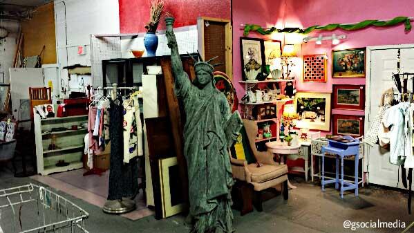 asheville statue of liberty