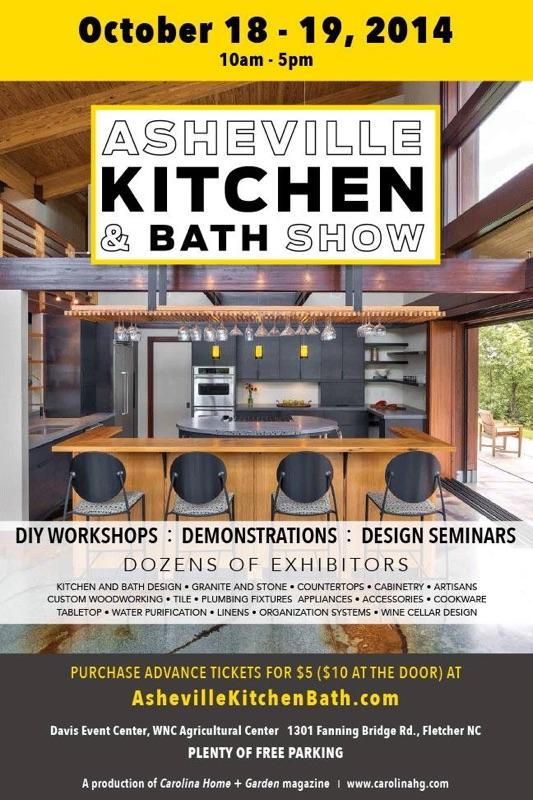 asheville kitchen and bath show