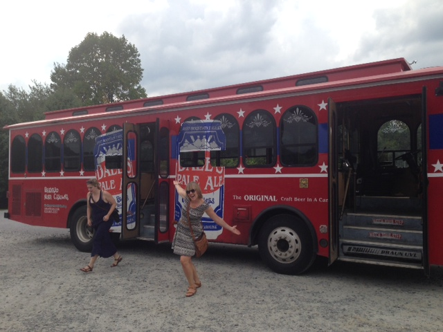 oskar blues trolley
