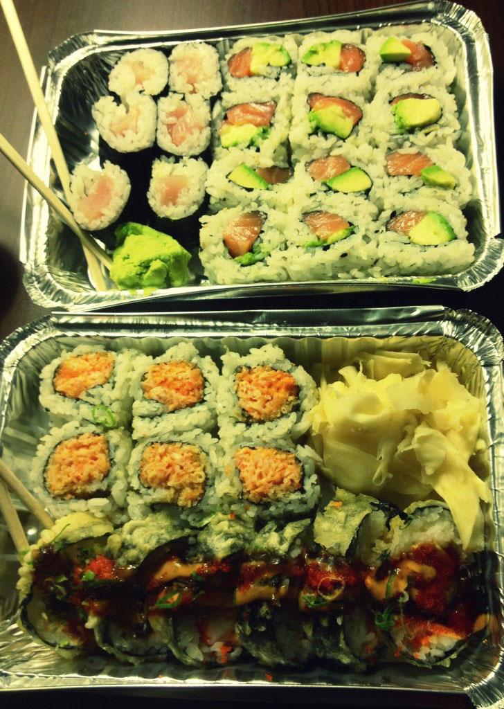 zen sushi asheville merrimon avenue