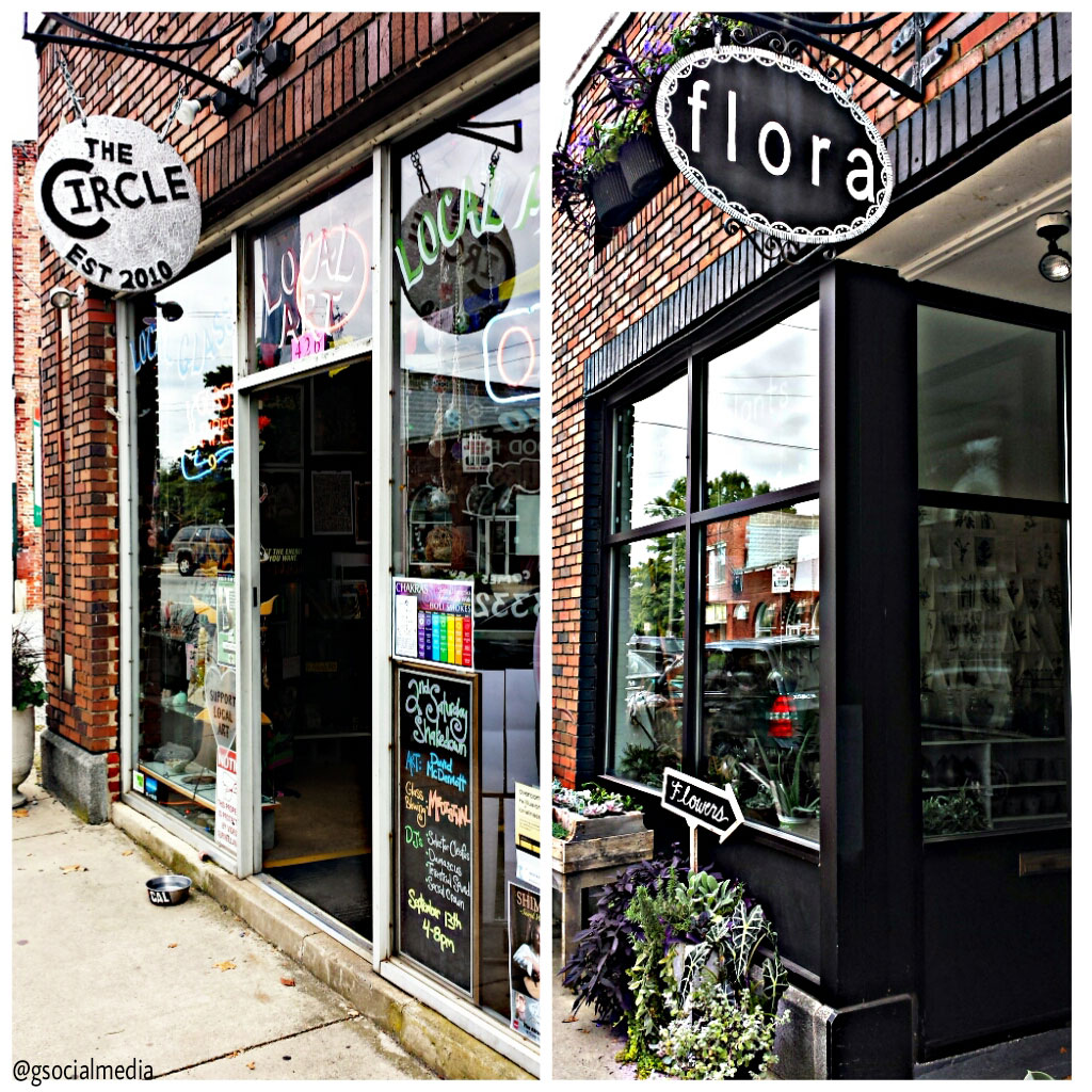the circle and flora west asheville