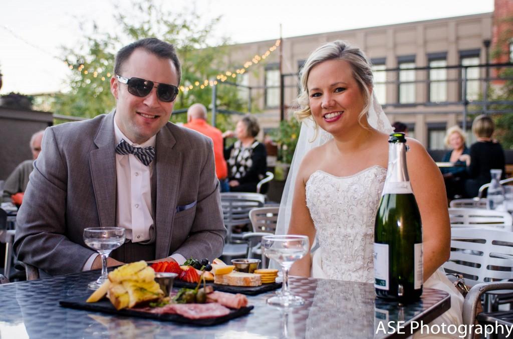 asheville wedding dinner