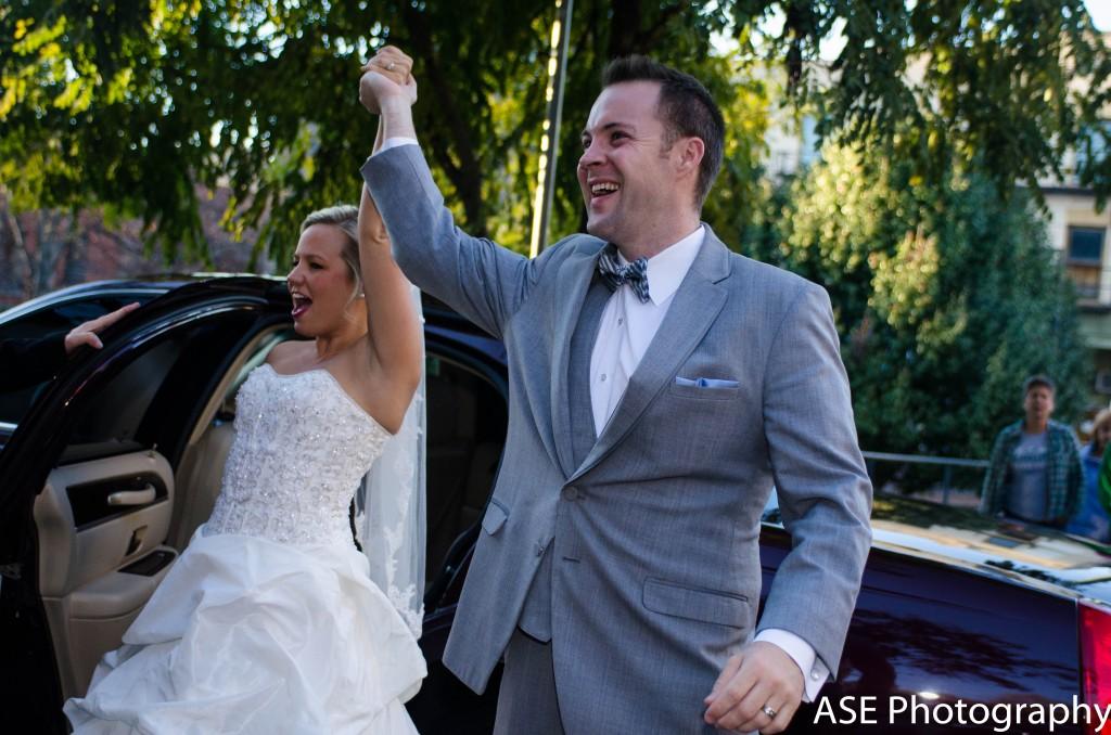 downtown asheville wedding