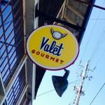 Valet Gourmet Sign asheville