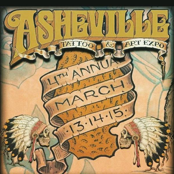 Asheville Tattoo Art Expo 2015