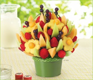 Edible Arrangements gift basket Asheville NC