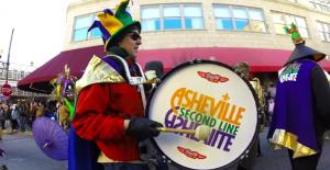 Asheville Mardi Gras Second Line