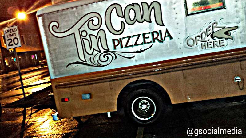 Asheville Food Truck - Tin Can Pizzeria