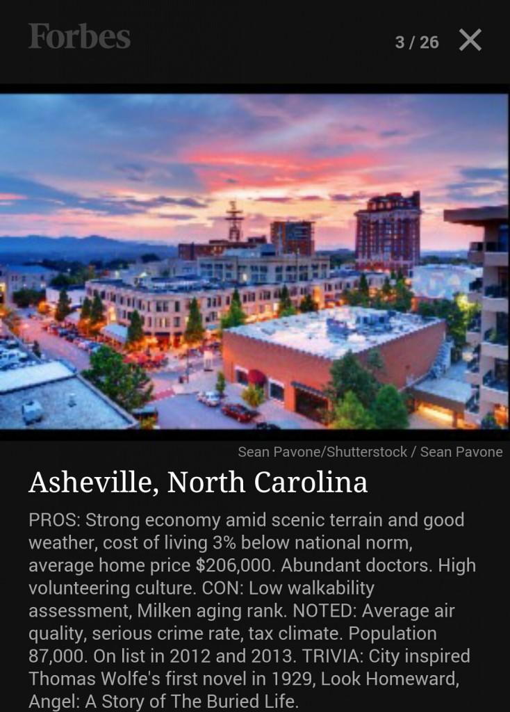 asheville retire forbes 2015