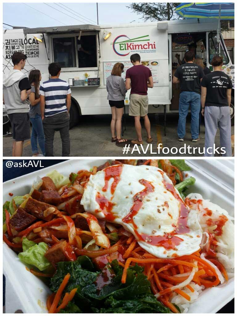 asheville food truck el kimchi