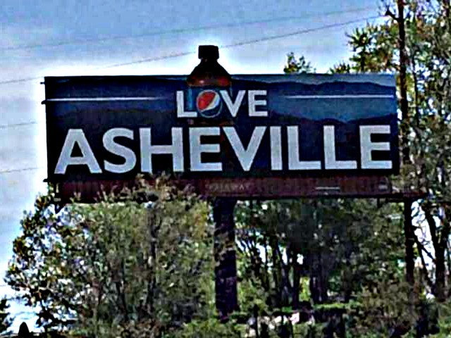pepsitown lovetown love asheville