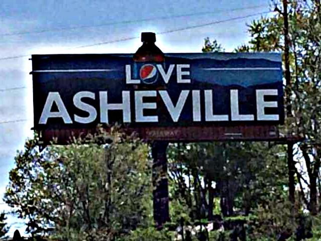 pepsitown lovetown love asheville