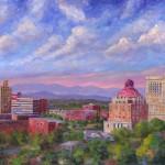 Asheville Skyline by Jeff Pittman