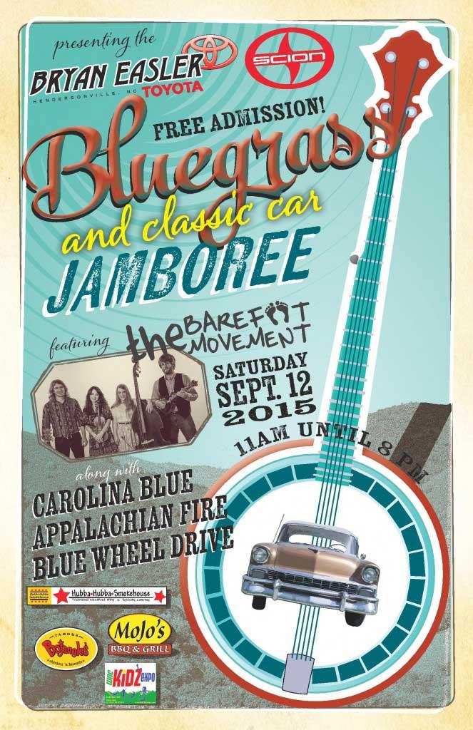 Bluegrass Classic Car Jamboree Hendersonville NC