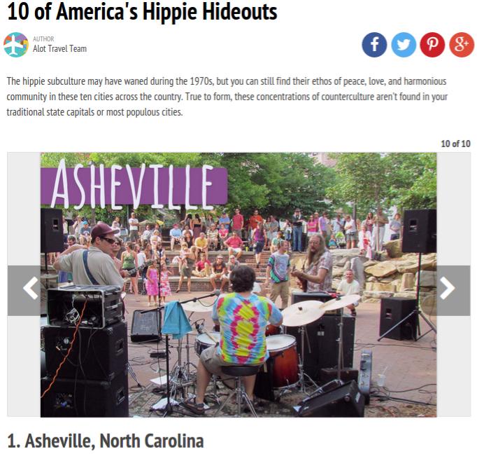 Asheville Hippie Hideout