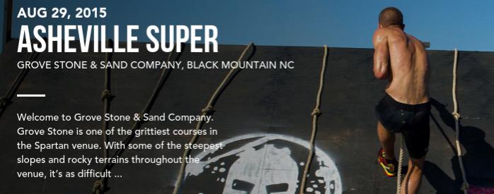 Spartan Race Asheville Super