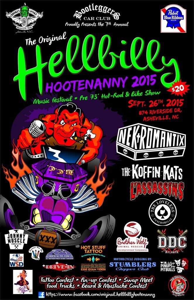 Hellbilly Hootenanny Asheville 2015