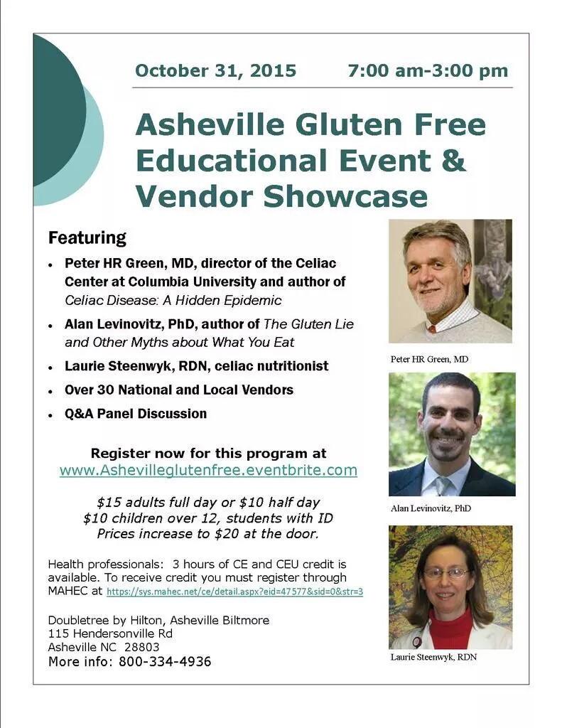 Asheville Gluten Free Event