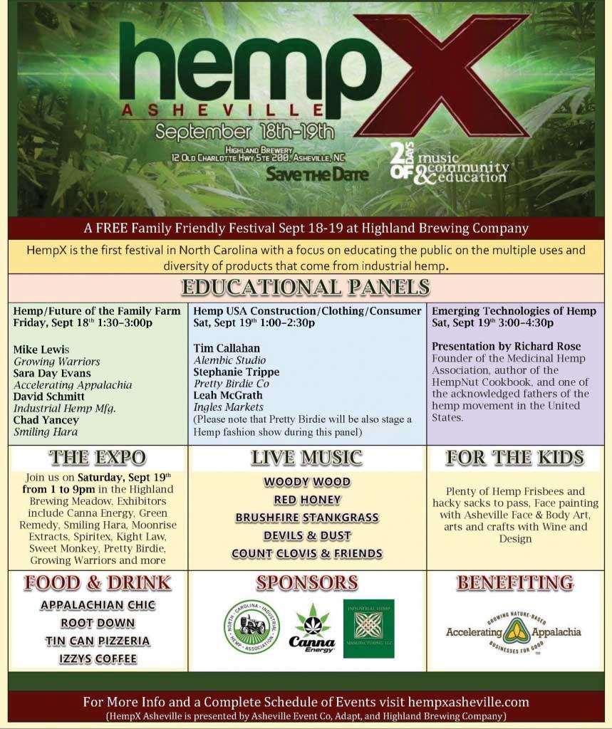 Hemp X Asheville North Carolina