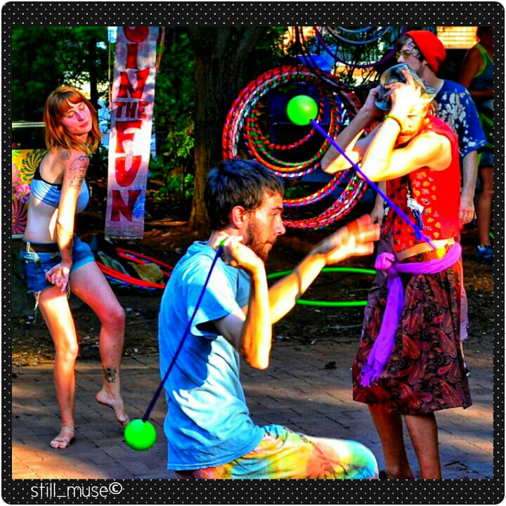 Hula Hoop Hippies Asheville NC
