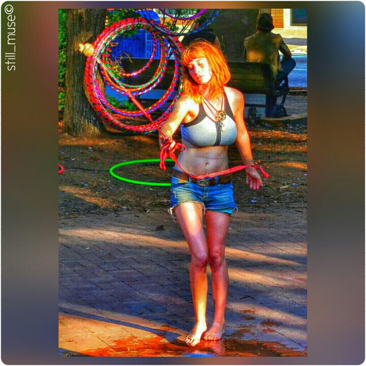 Hula Hooping Asheville Hippie