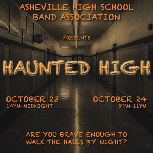 Haunted High 2015 Asheville NC
