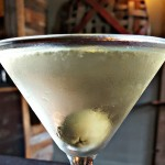 Asheville Martini at Rhubarb
