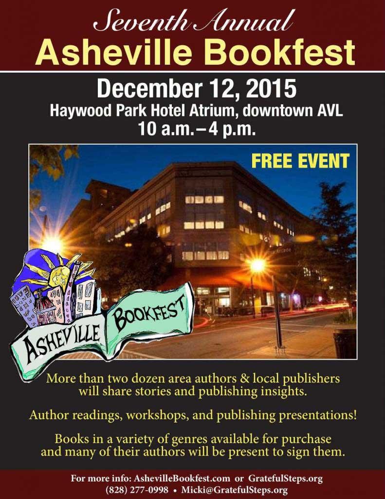 Asheville Bookfest 2015