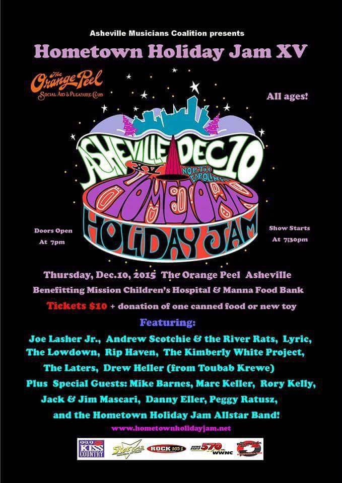Asheville Hometown Holiday Jam 2015