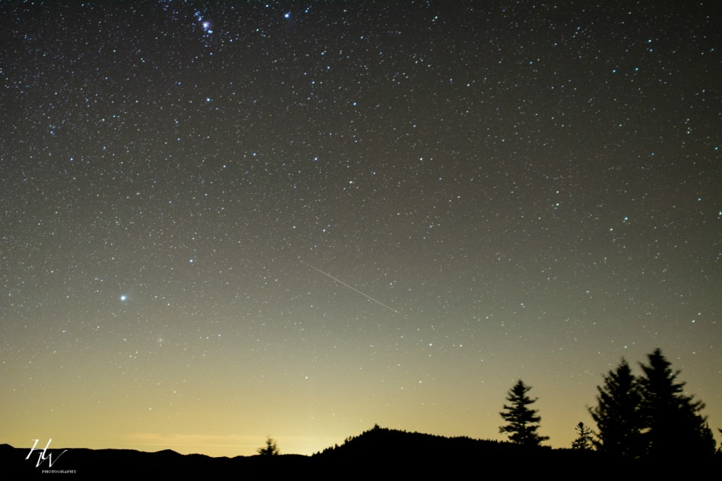 Asheville Meteor Shower Update