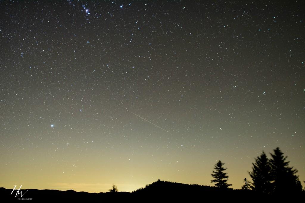 Asheville Meteor Shower Update
