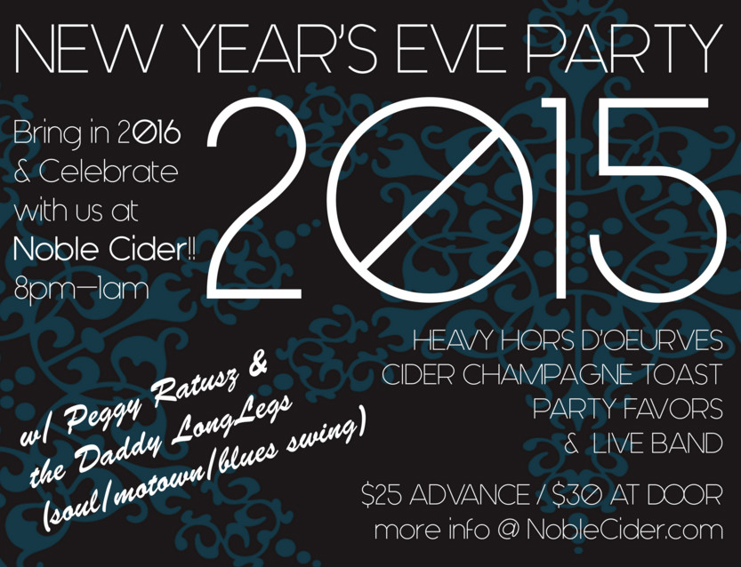 New Year's Eve at Noble Cider Asheville