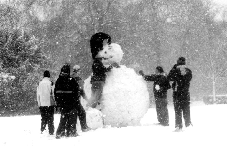 Asheville Snowman Party