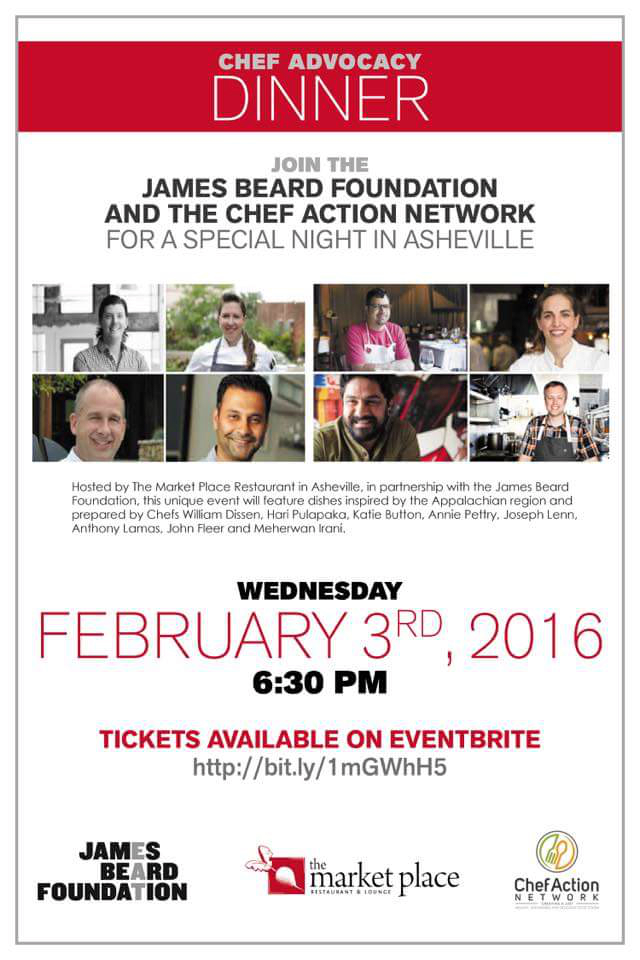 James Beard Foundation Chef Advocacy Dinner Asheville
