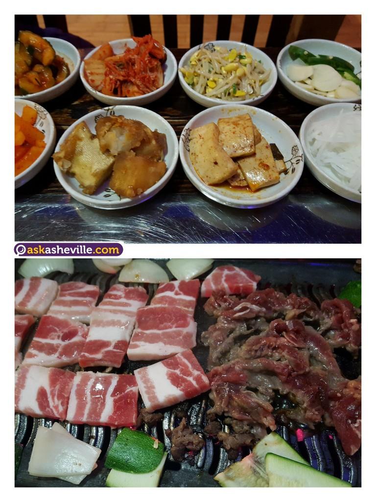 Korean Barbecue in Asheville