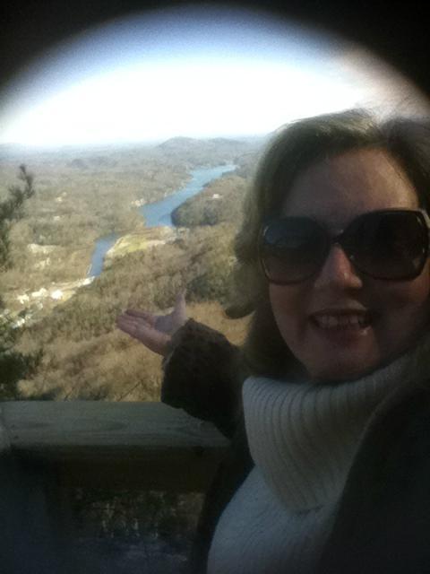 View of Lake Lure NC