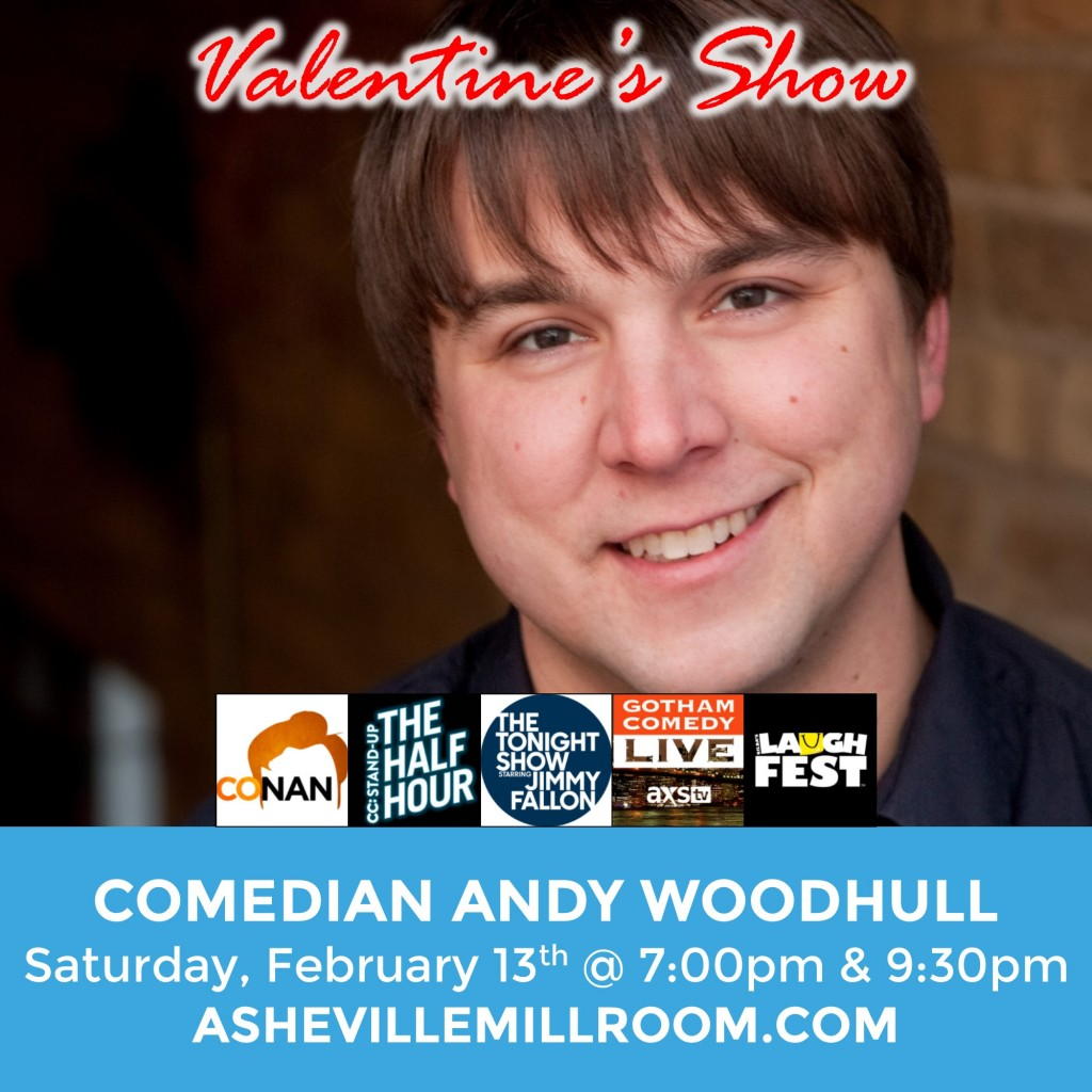 Andy Woodhull at Millroom Asheville