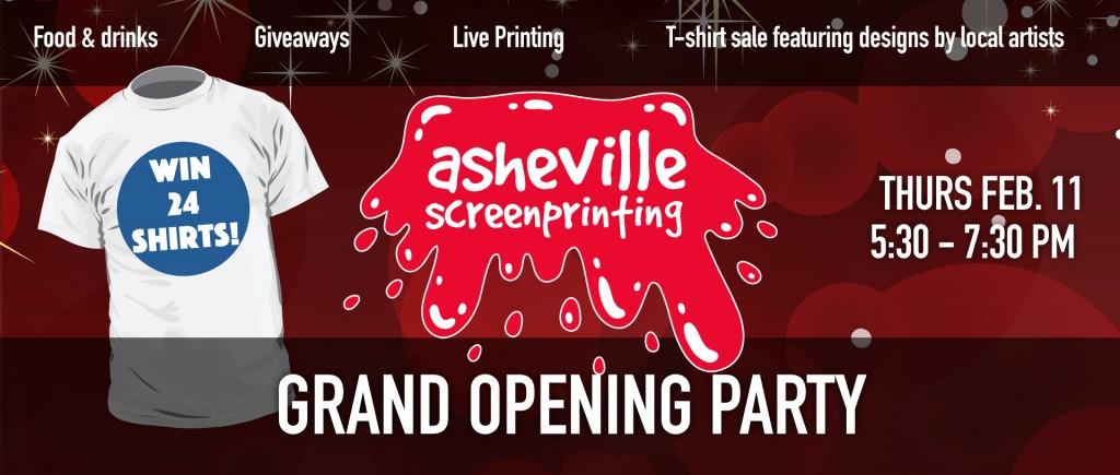 Asheville Screen Printing Open House