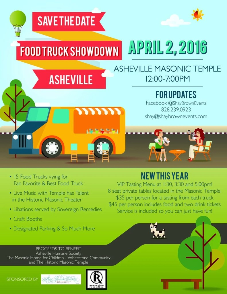 Asheville Food Truck Showdown