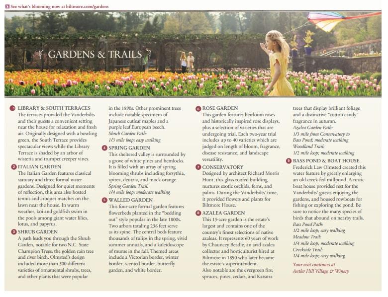 Biltmore Estate Gardens & Trails