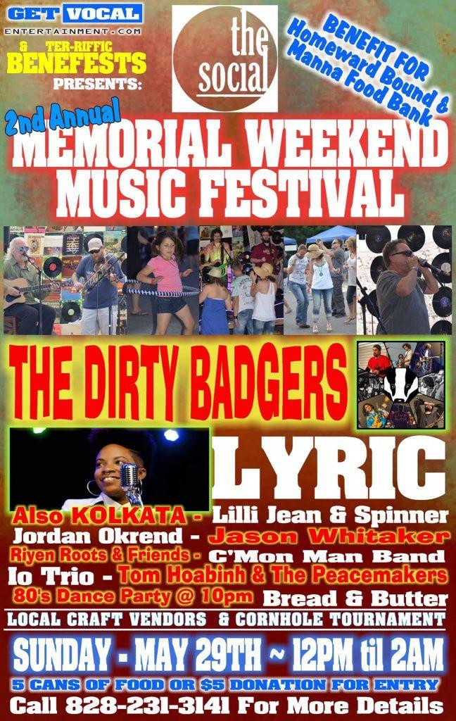 Asheville Music Festival Memorial Weekend
