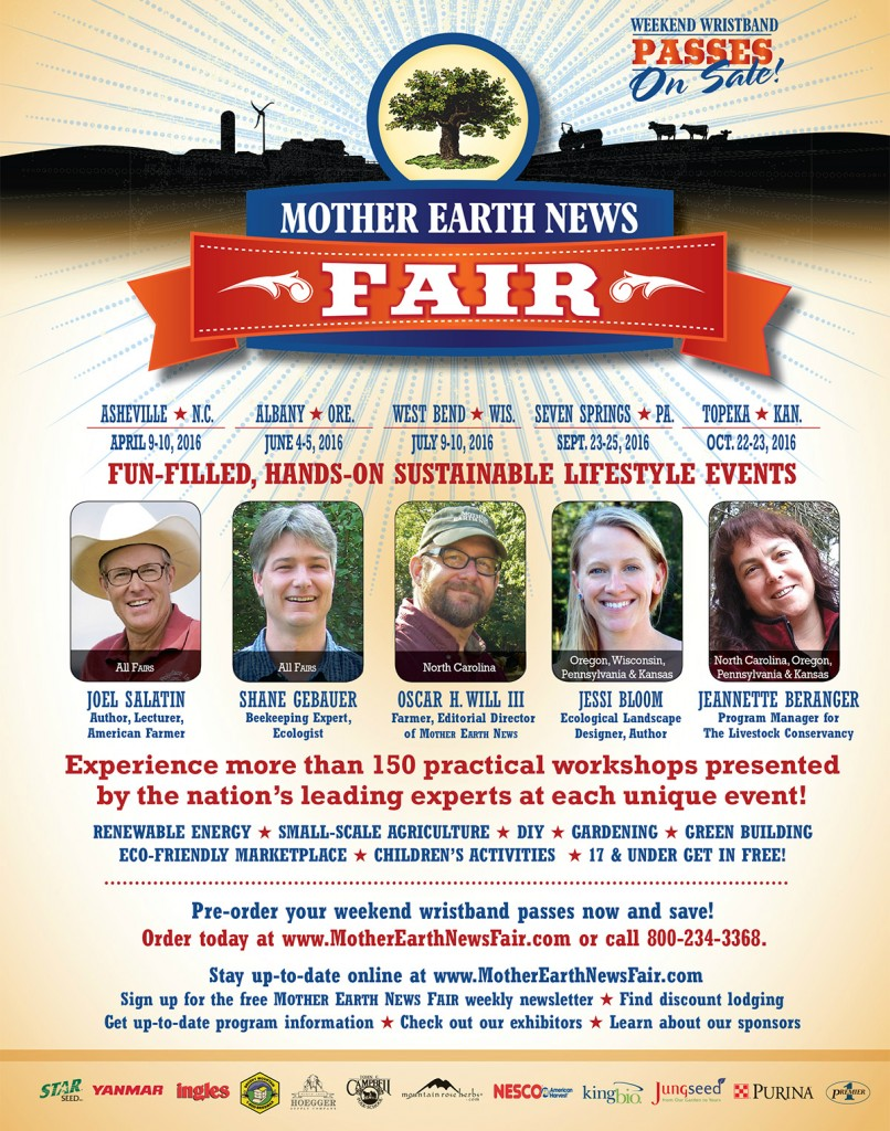 Mother Earth News Fair Asheville NC