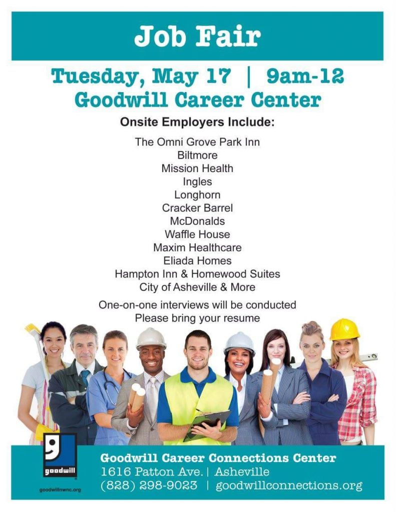 Asheville Job Fair at Goodwill