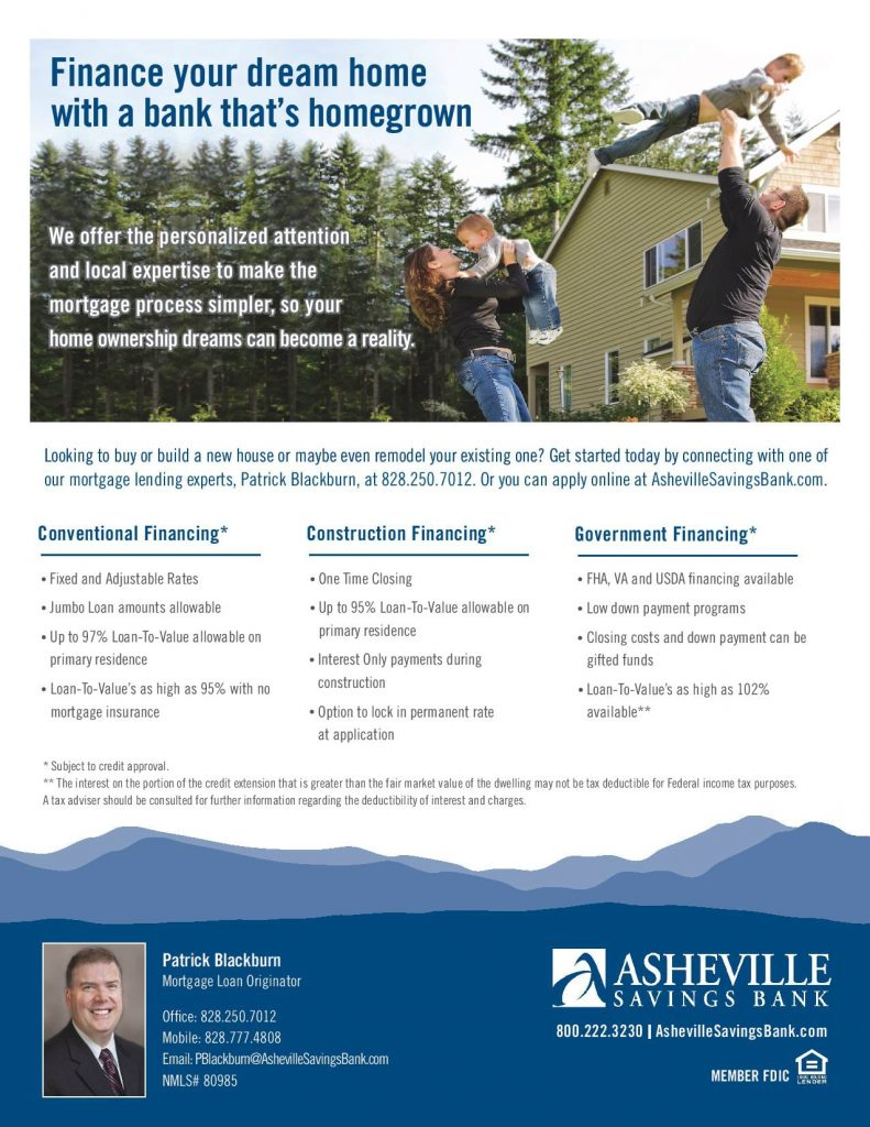 Asheville Savings Bank Mortgage Lender