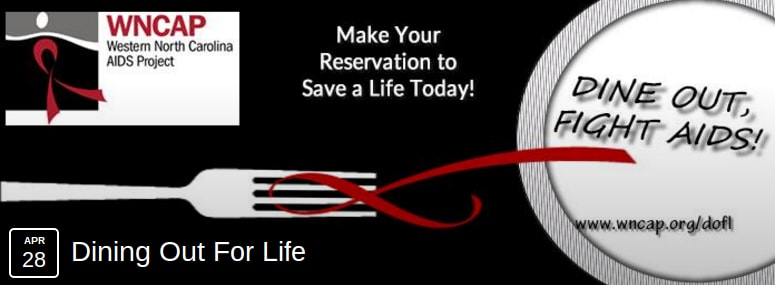 Dining Out For Life Asheville 2016