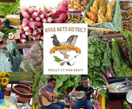 River Arts District Farmers Market in Asheville