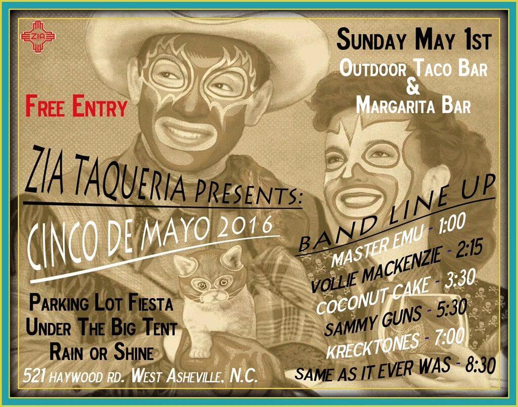 Zia Taqueria Asheville Cinco De Mayo