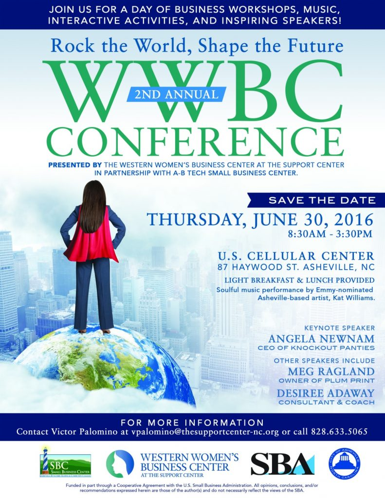 WWBC Western Women's Business Center Conference in Asheville NC
