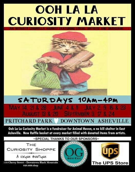 Ooh La La Curiousity Market in Asheville NC